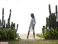 Tight Ebony Babe Valerie Cactus - pics 00
