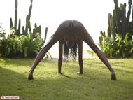 Tight Ebony Babe Valerie Cactus - pics 12