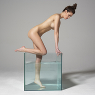 Sexy Nude Victoria R Aquarium - pics 04