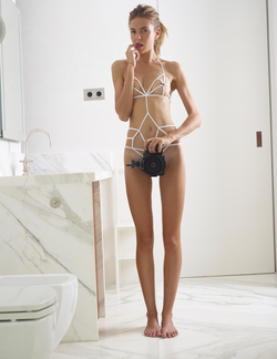 Alya Shoe String Swimsuit Pictures - pics 09