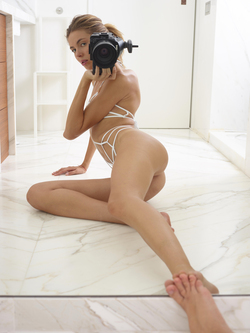 Alya Shoe String Swimsuit Pictures - pics 17