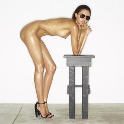 Leggy Babe Kasia James Bond Girl - pics 08