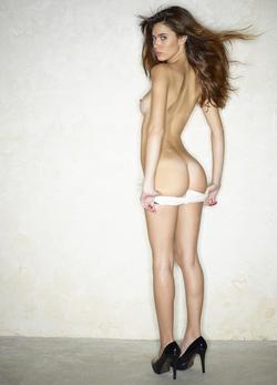 Victoria R in Shiny Disco Shorts - pics 07