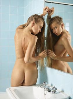 Ukrainian Babe Milena D Hairy Pussy - pics 12