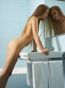 Ukrainian Babe Milena D Hairy Pussy - pics 15