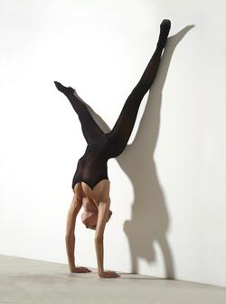 Busty Luba Shumeyko Naked Yoga - pics 01