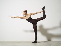 Busty Luba Shumeyko Naked Yoga - pics 03
