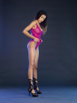Ebony Goddess Tyra Pink Panther - pics 02