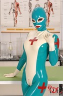 Sexy Latex Babes Go Wild in Clinic - pics 01
