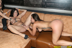 Incredible Hardcore Orgy in the VIP - pics 10