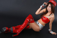 Japanese Angel Sexy Red Boots - pics 11