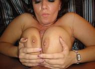 Big Boobed Amateur Titty Fuck - pics 17
