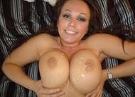 Big Boobed Amateur Titty Fuck - pics 26
