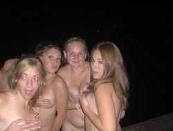 Drunk Amateur Babes Love Night Beach - pics 09
