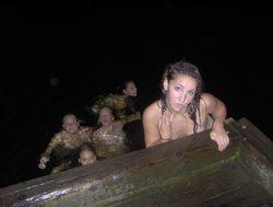 Drunk Amateur Babes Love Night Beach - pics 16