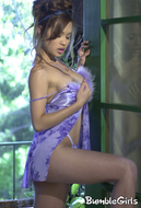 Busty Asian Model Francine Dee - pics 03