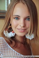 Beautiful Angel in White Mesh - pics 06