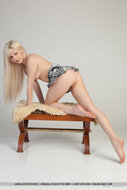 Platinum Blonde Girl Pink Pussy - pics 10