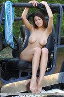 Sexy Big Boobed Sofi Outdoor - pics 11