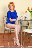 Cute Redhead Violla A Perky Tits - pics 01