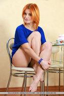 Cute Redhead Violla A Perky Tits - pics 02
