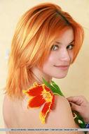Cute Redhead Violla A Perky Tits - pics 11