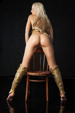 Blonde Angel Alysha A Shiny Gold - pics 07