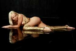 Blonde Angel Alysha A Shiny Gold - pics 10