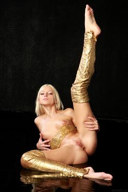 Blonde Angel Alysha A Shiny Gold - pics 17