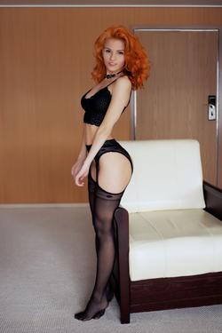 Zarina A Fluffy Redhead Beauty - pics 00