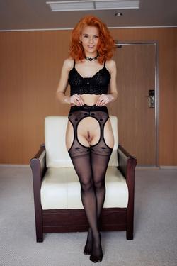 Zarina A Fluffy Redhead Beauty - pics 01
