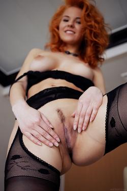 Zarina A Fluffy Redhead Beauty - pics 04