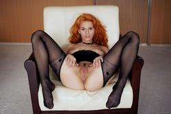 Zarina A Fluffy Redhead Beauty - pics 07