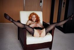 Zarina A Fluffy Redhead Beauty - pics 10