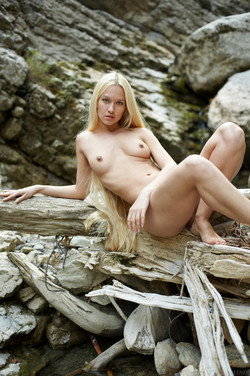 Long-Long Haired Blonde Desire A  - pics 05