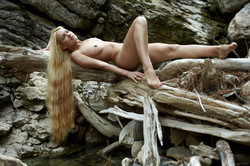 Long-Long Haired Blonde Desire A  - pics 07