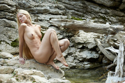 Long-Long Haired Blonde Desire A  - pics 12