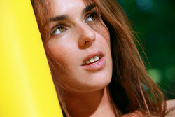 Fernanda on Yellow Beach Mattress - pics 16