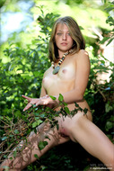 Cute Teen Naked in the Forest - pics 05