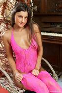 Maria Ryabushkina Pink Tights - pics 00