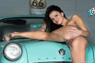 Dark Angel with an Oldtimer Car - pics 04