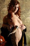 Redhead Girl Solana Pink Pussy - pics 01