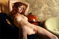 Redhead Girl Solana Pink Pussy - pics 11