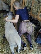 Hot Blonde Milf Pantyhose Fetish - pics 12