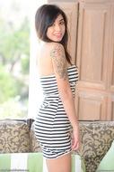 Tattooed latin Slut Zoe Martinez - pics 01