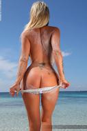 Busty Slut Holly the Bikini Test - pics 04
