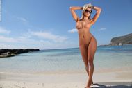 Busty Slut Holly the Bikini Test - pics 07