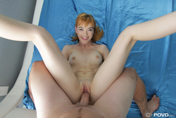 POV Fucking with a Sexy Redhead - pics 16