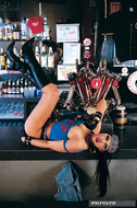 Biker Slut Bangs Hard in the Bar - pics 01