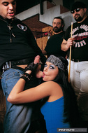 Biker Slut Bangs Hard in the Bar - pics 05